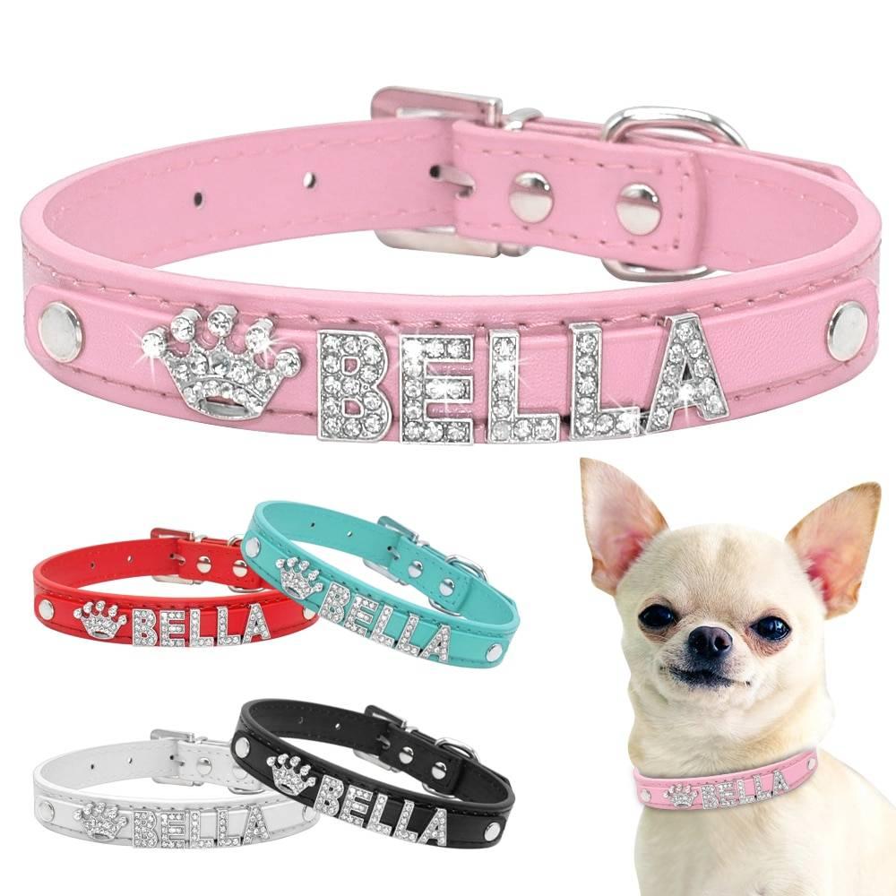 Dog's Bella Crystal Collar  My Pet World Store