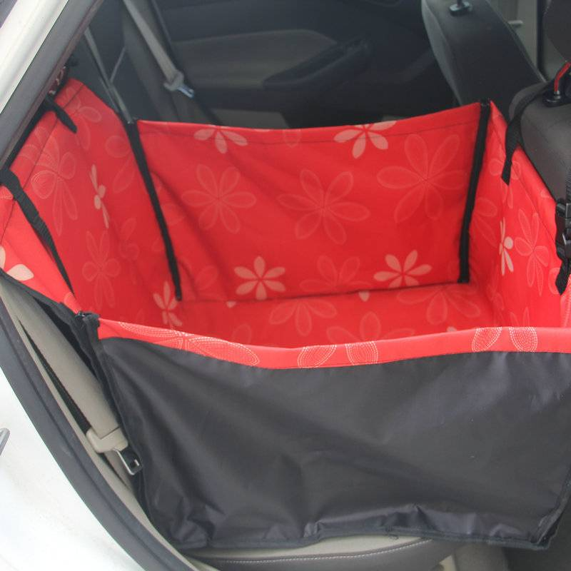 Dog's Two Tone Multifunction Car Seat Cover