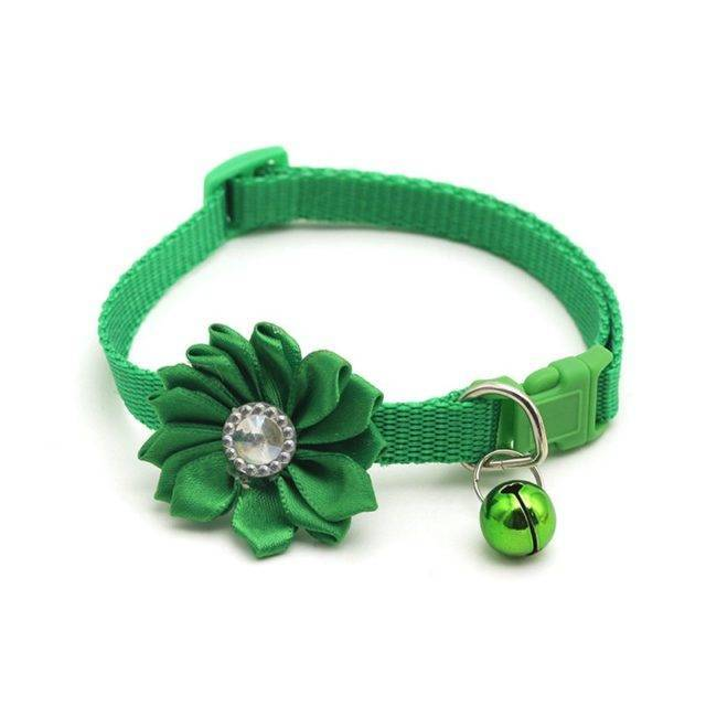 Cute Floral Adjustable Collar for Pets  My Pet World Store