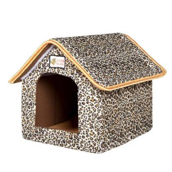 Folding Pet House with Soft Mat  My Pet World Store