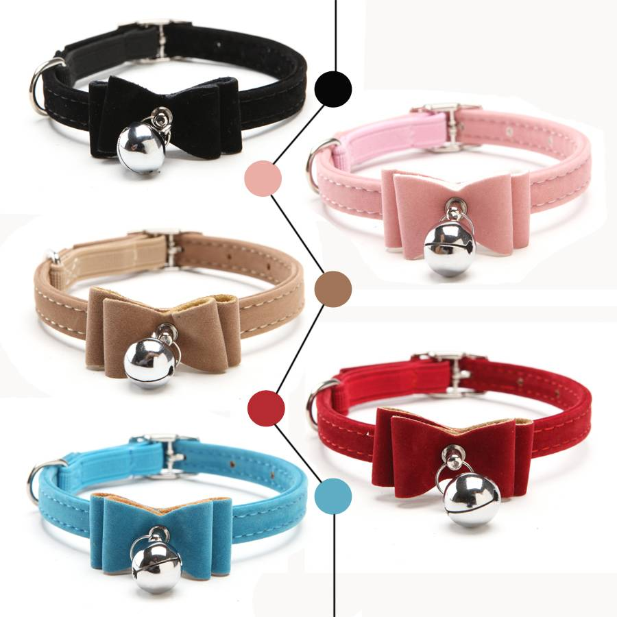 Elastic Collar with Bell for Cats  My Pet World Store
