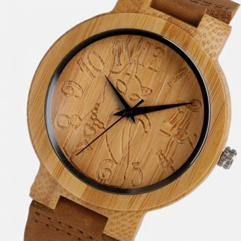 Women's Lovely Cat Bamboo Watch  My Pet World Store