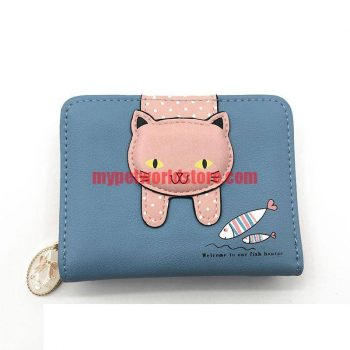 Women's Cute Cat Printed Wallet  My Pet World Store