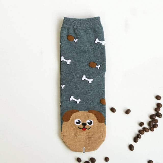 Women's Cute Cat Printed Socks  My Pet World Store