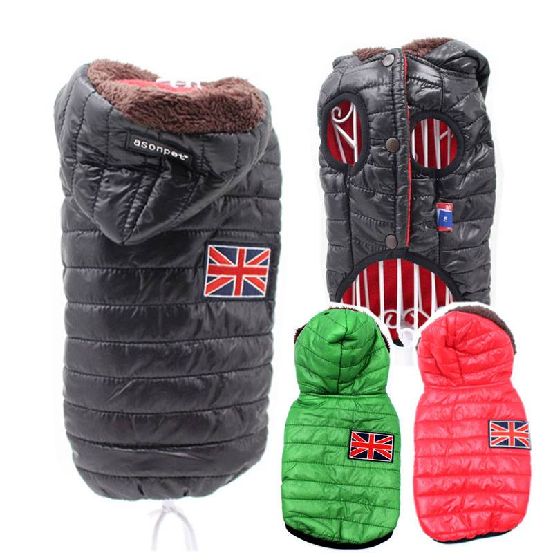 Cute Warm Hooded Dog's Vest  My Pet World Store