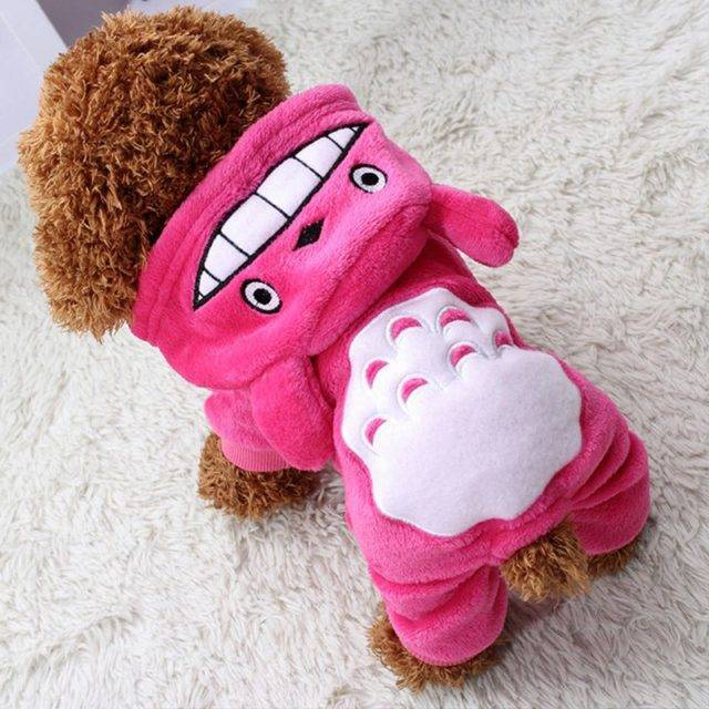 Fashion Warm & Comfortable Fleece Jumpsuit for Small Dogs  My Pet World Store