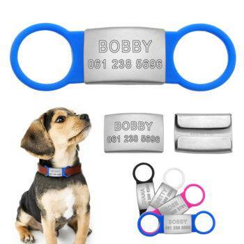 Dog's Personalized Stainless Steel ID Tags  My Pet World Store