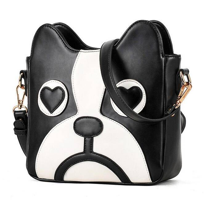 Women's 3D Dog Printed Leather Crossbody Bags  My Pet World Store