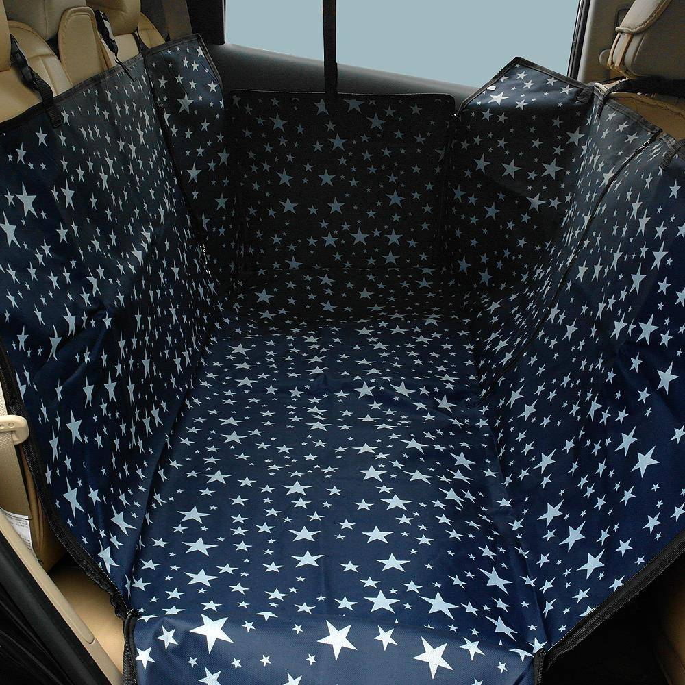 Dog's Printed Oxford Car Seat Cover  My Pet World Store