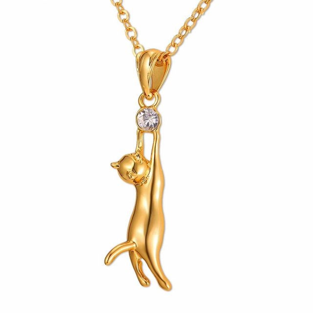 Awesome Cat Necklace for Women  My Pet World Store