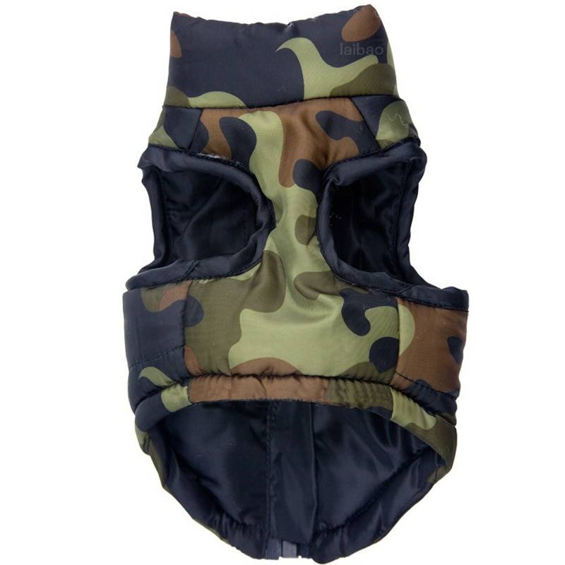Stylish Warm Waterproof Camouflage Dog's Coat  My Pet World Store