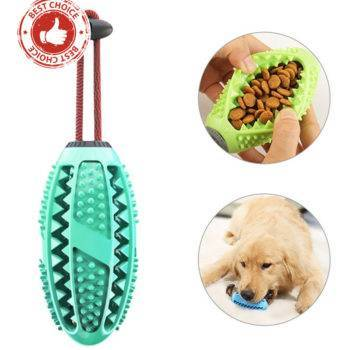 Dog Interactive Natural Rubber Chew Ball Toy  My Pet World Store