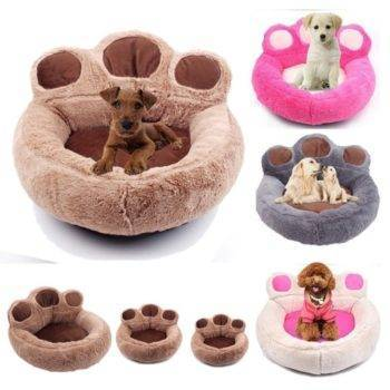 Warm Bear Claw Shape Cat Dog Sleeping Bed  My Pet World Store