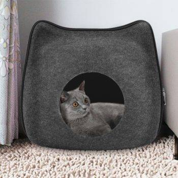 Detachable Natural Cat Breathable Bed  My Pet World Store