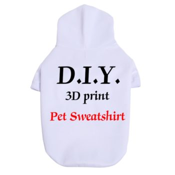 Fashion 3D Printed Custom Dog T-shirt with Personalized design  My Pet World Store