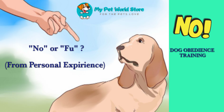 "My Pet World Store ❗""NO"" or ❗""FU""❓-Dog training from personal experience👩 https://mypetworldstore.com/no-or-fu-dog-training-command/"