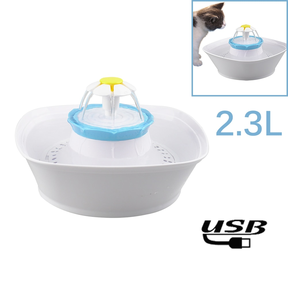Automatic Cat Water Fountain -2,3L  My Pet World Store
