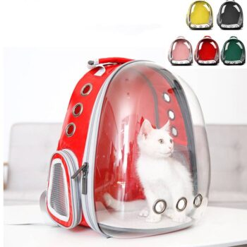 360 Sightseeing Creative Capsule Transparent Pet Backpack  My Pet World Store