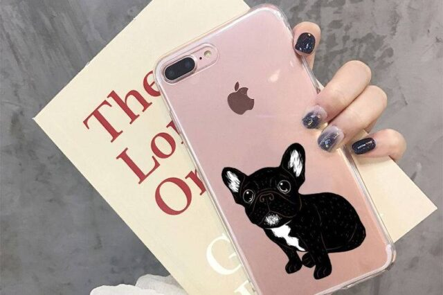 Cute Frenchie Puppy Colorful Phone Case for iPhone  My Pet World Store