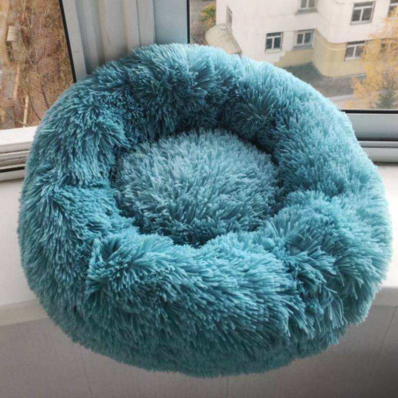Soft Plush Donut Bed