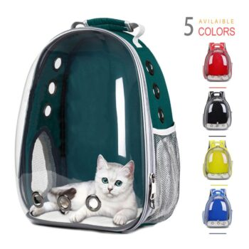 ThinBest Cat Backpack Carriers for Cats Puppy Dogs and Airline-Approved Ventilate Transparent Capsule for Travel Pet Backpack  My Pet World Store