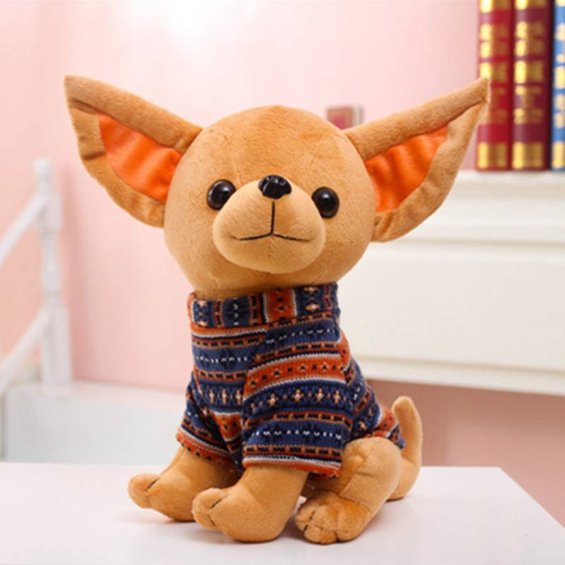Dogs Home Decors New Arrivals Toys Plush Stuffed Chihuahua Toy for Dogs  My Pet World Store