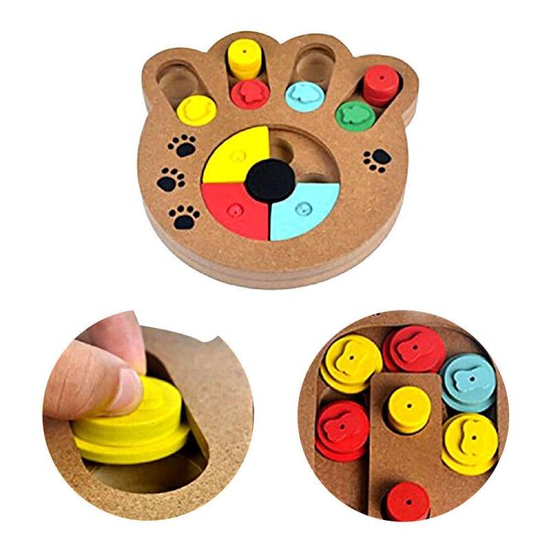 Dogs Feeding & Watering Accessories New Arrivals Toys Dogs Educational Puzzle Treat Board  My Pet World Store