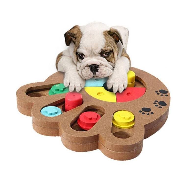 Dogs Educational Puzzle Treat Board
