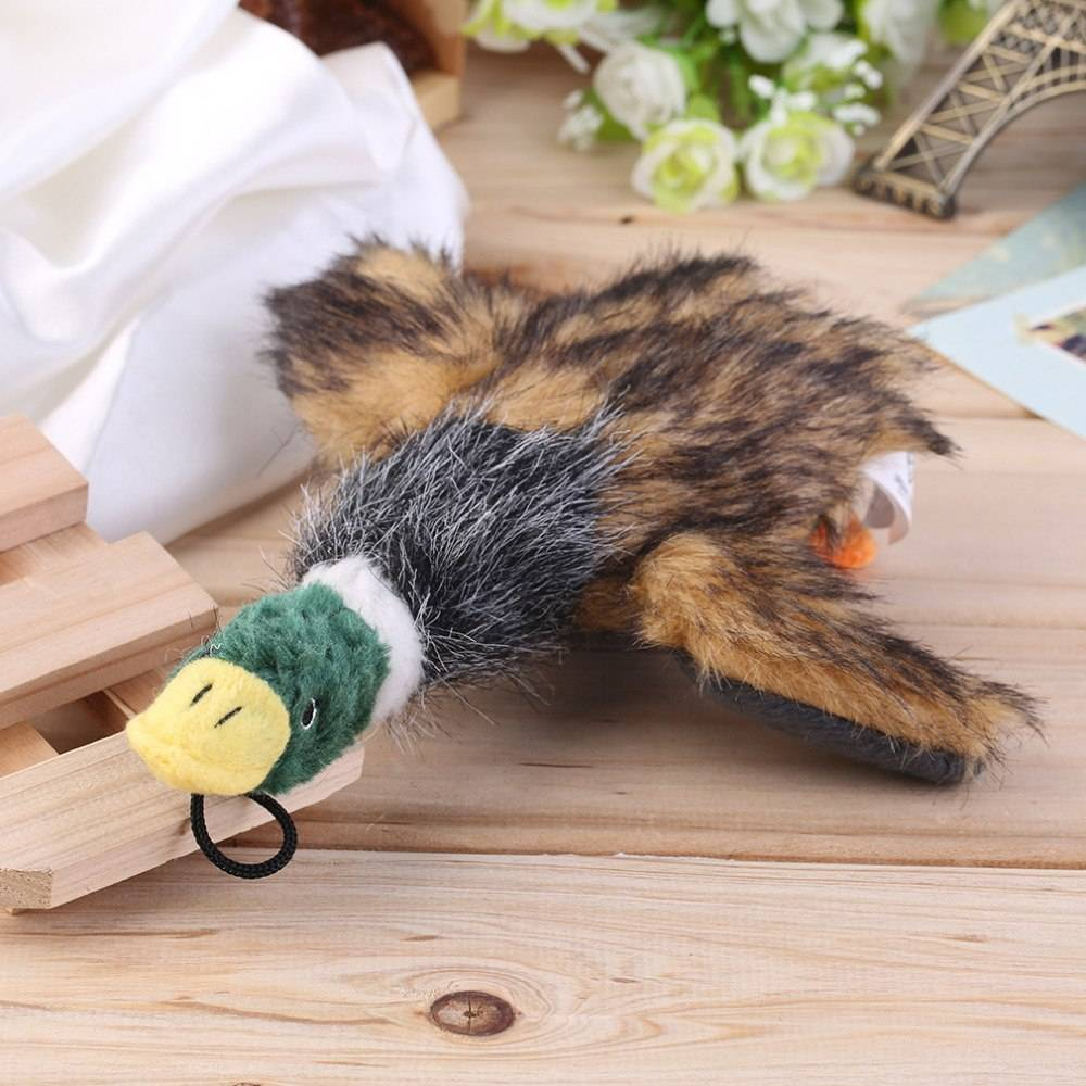 Cute Stuffed Squeaking Duck for Dogs  My Pet World Store