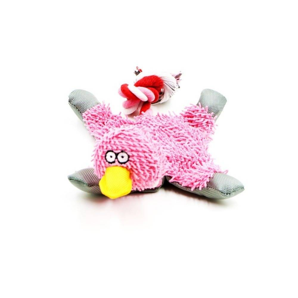 Funny Fluffy Duck Plush Dog's Toy  My Pet World Store