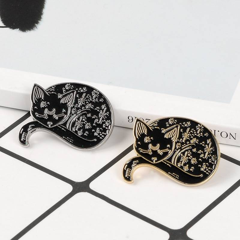 For Pet Fans Jewelry & Watches New Arrivals Cat Themed Metal Pin  My Pet World Store