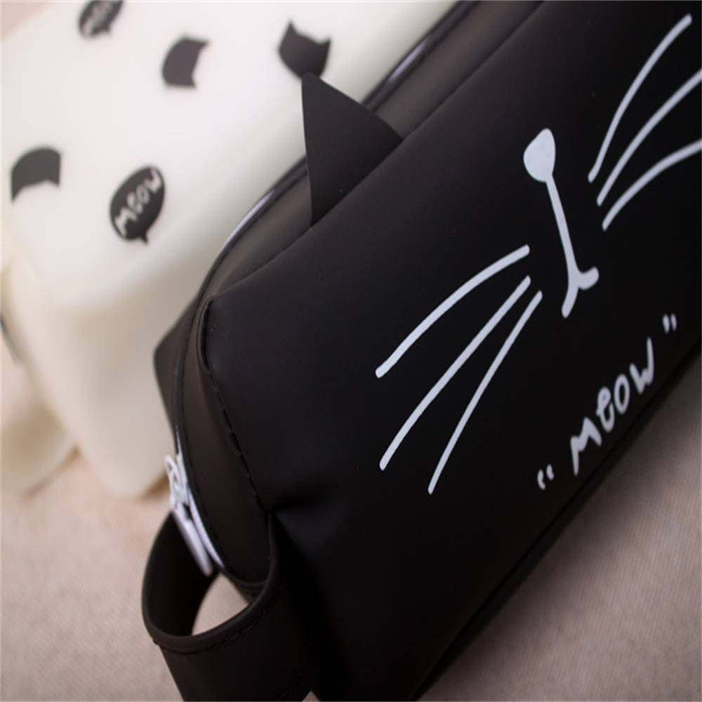 For Pet Fans Office & School Supplies Cute Cat Patterned Pencil Case  My Pet World Store