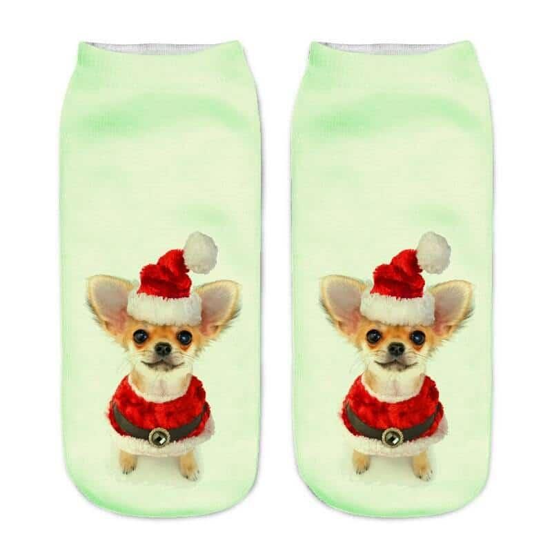 Women's Little Dog 3D Print Socks